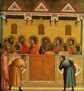 Pentecoste di Giotto__1320-25_National_Gallery,_London