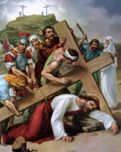 Gesù cade