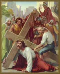 Gesù cade 3