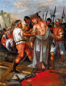 Gesù spogliato stazione10