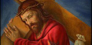 Gesu_caricato della croce